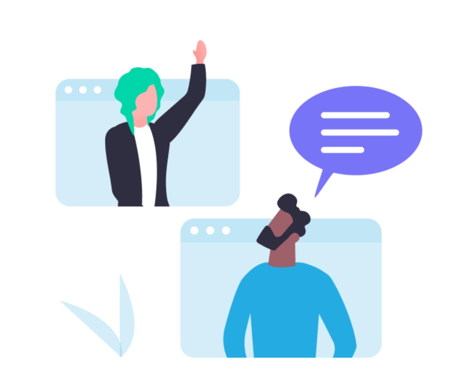Interpersonal speaking