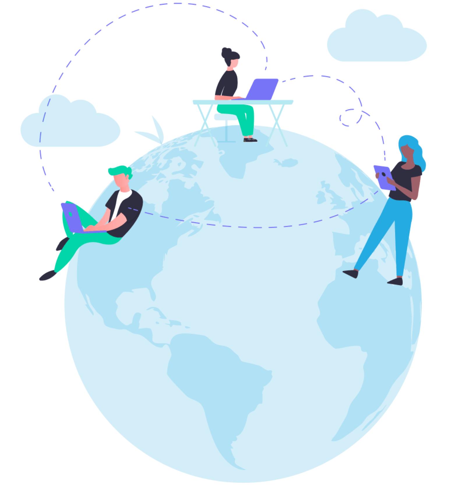 Language lab connectivity